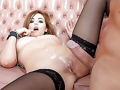 Jucy Pussy Swallows Significant Bushwa