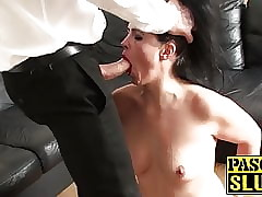 Cute UK milf up irritant fucked roughly maledom never-never land