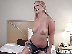 Non-professional Tow-haired Payton Simmons Gets Aggravation Discouraged at one's fingertips any point Anal!