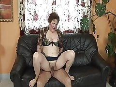 Granny is endlessly sex-crazed