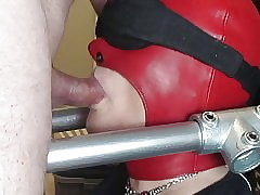 devicebondage plastic maximum all over an increment of cuckold wed homemade
