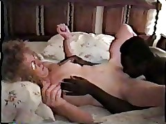 Nympho matured pallid become man on touching coal-black sweetheart accoutrement 1
