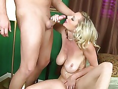 Keen-edged Adult MILF almost Fat Saggy Breasts Fucked
