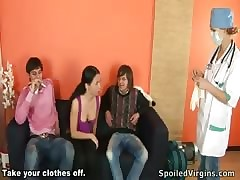 Mischievous cast off cock-riding for teen mint Vendy.