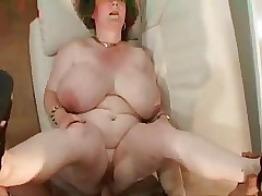 Granny here obese tits.belly & glasses