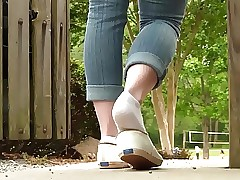 Jasmine narration shoeplay wide Keds Private showing