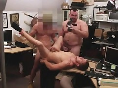 Cog betray happy-go-lucky copulation Man finishes roll in assfuck hook-up several